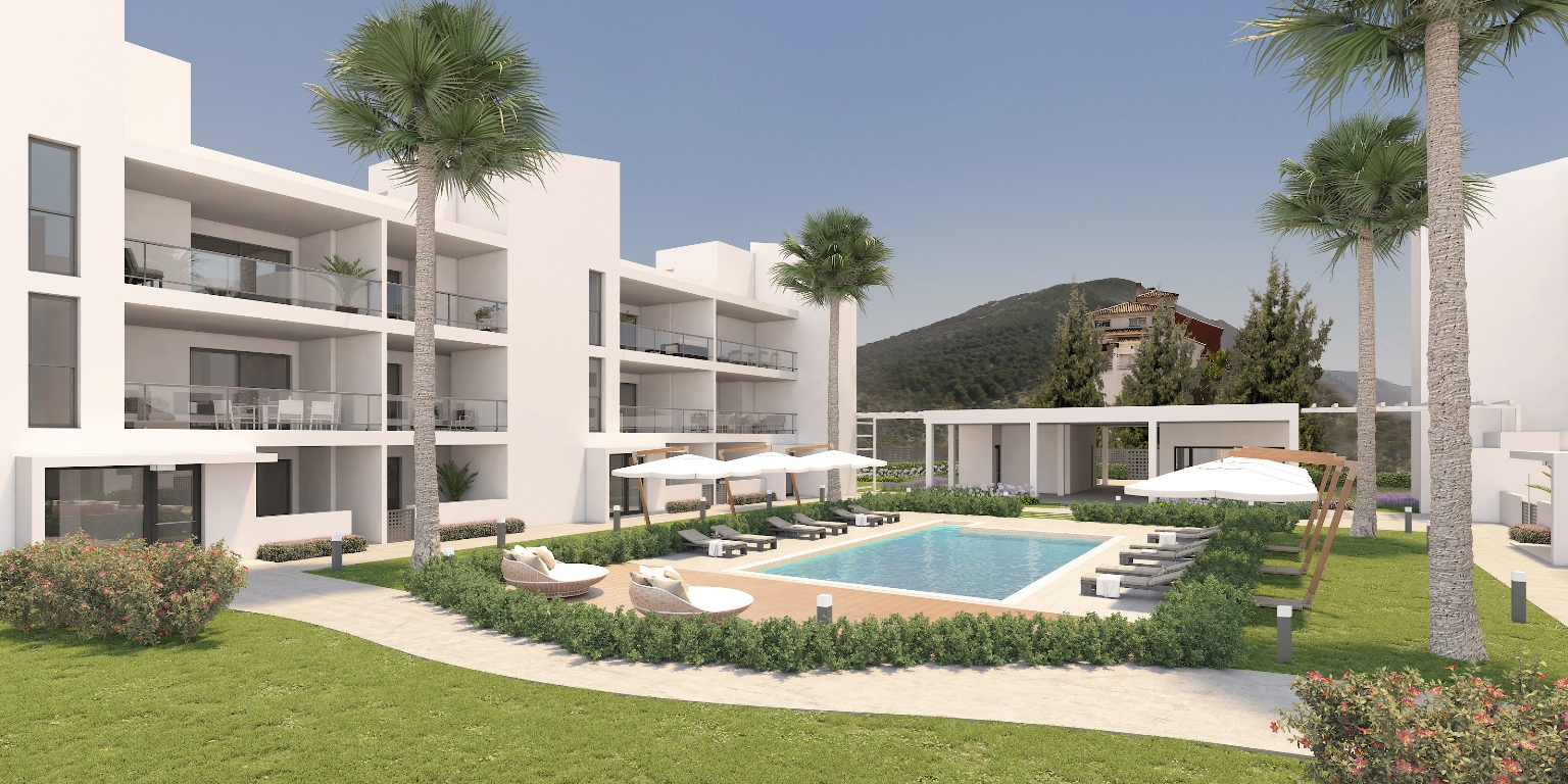 Alhaurin Vista Gol - apartamentos de nueva construcción - Costa del Sol - impresión